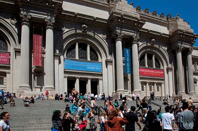 Fachada del Metropolitan Museum of Art - MET de Nueva York