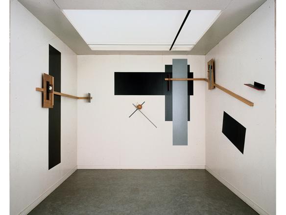 El Lissitzky, Prounenraum -Espacio Proun-, 1923 -reconstruido en 1971-