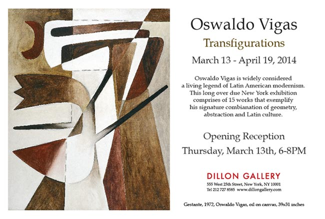 Oswaldo Vigas, Transfigurations