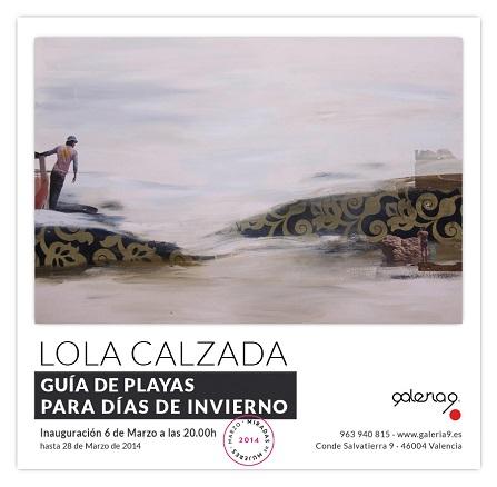 Lola Calzada, Guía de playas para días de invierno
