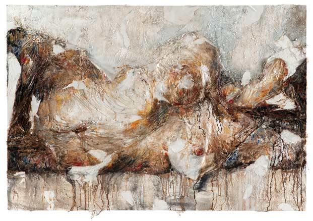 Francesca Leone, Corpo e terra 15, 2013