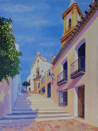 Conchi Álvarez, Escalinata sirena