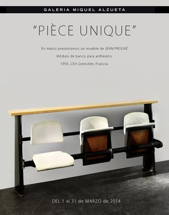 Jean Prouvé, Pièce unique
