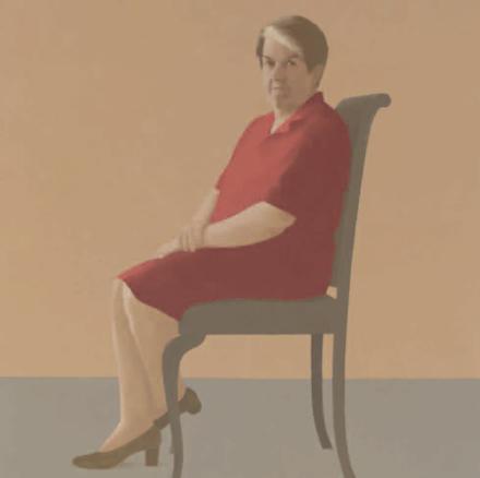 Elena Goñi, Retrato de Elena Goicoechea, 2001