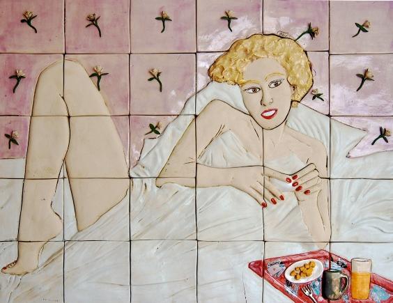 Teresa Carvallo. Mananero. 74 x 59 cm.