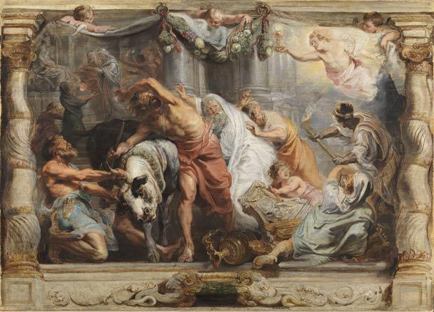 Rubens, El Triunfo de la Iglesia, h. 1625
