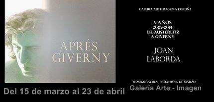 Joan Laborda, Aprés Giverny
