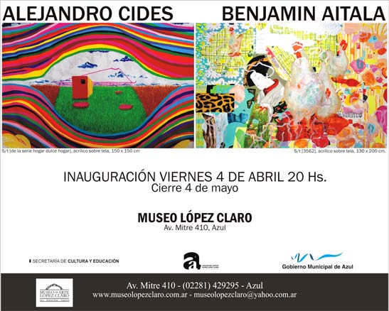 Alejandro Cides - Benjamín Aitala