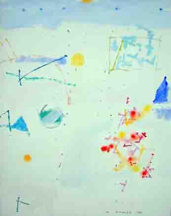 Manolo Mompó, st, óleo sobre tela, 70x50 cms.