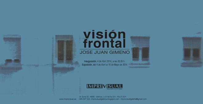 José Juan Gimeno, Visión frontal