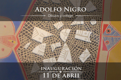 Adolfo Nigro, Dibujos y Collage