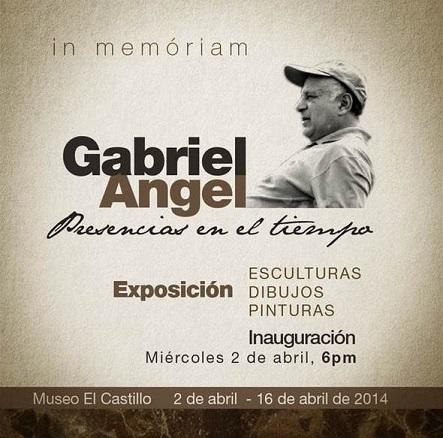 Gabriel Ángel, Presencias en el tiempo