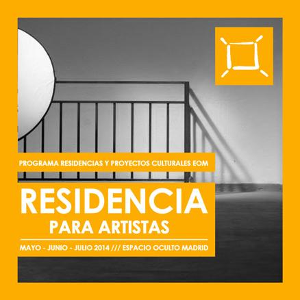 Convocatoria Residencia para Artistas