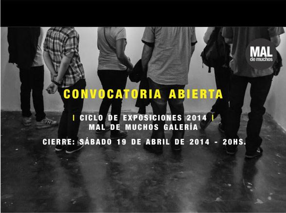 Convocatoria Abierta Ciclo de Exposiciones 2014