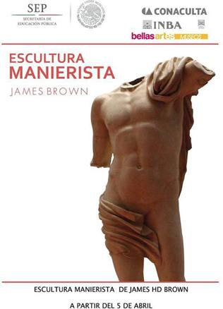 James HD Brown, Escultura manierista