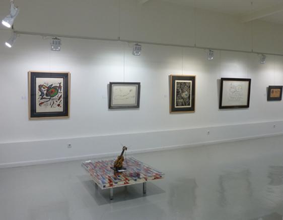 sala 1 - Dali-Miró-Picasso