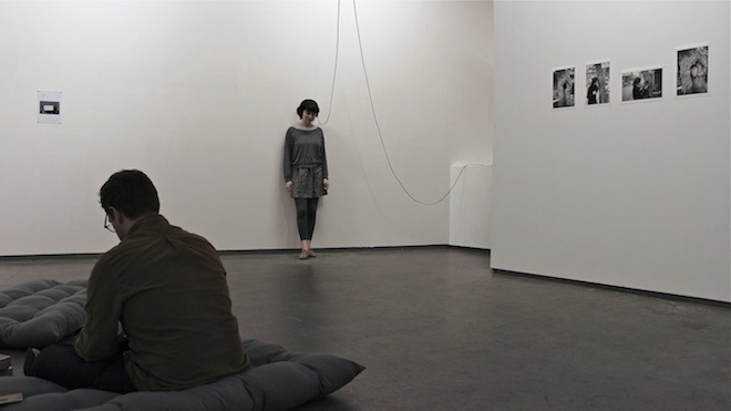A tender tentative of words. Installation view at PM8