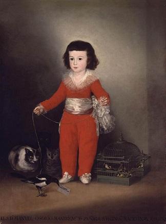 Francisco de Goya, Manuel Osorio Manrique de Zuñiga