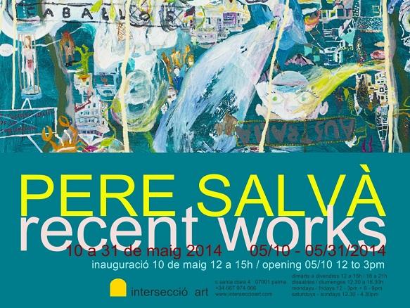 Pere Salvà, Recent works