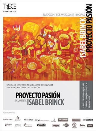 Isabel Brinck, Proyecto Pasión