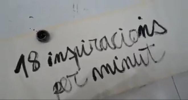 18 inspiracions per minut