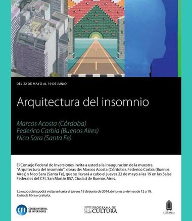 Arquitectura del insomnio
