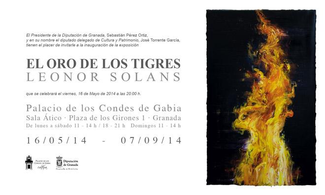 Leonor Solans, El oro de los tigres