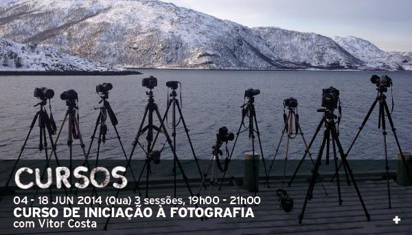 Curso de iniciação à fotografia