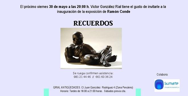 Ramón Conde, Recuerdos