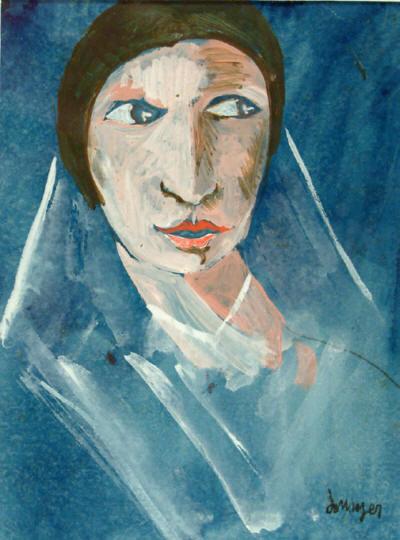 Joan Junyer, La mujer del velo