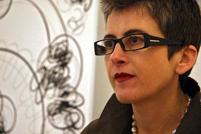 Laura Gutierrez - Foto Peio García -ICAL   Laura Gutierrez (Cubo Azul): por la colaboración con galerías y museos