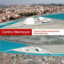 Vista del Centro Oscar Niemeyer de Aviles   Inaugurado el Centro Niemeyer de Avilés