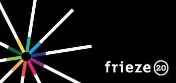 Logotipo de la 20 edicion de Frieze | La nueva Fundación Emdash sustituye a Cartier en el patrocinio de los premios Frieze