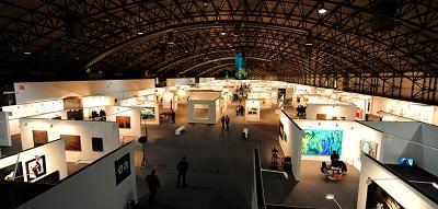 Vista general de IFEVI Instituto Ferial de Vigo | Sólo 3 galerías lusas acompañan a 40 españolas en Espacio Atlántico