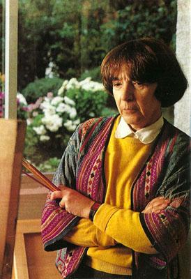 Amalia Avia en los 90 | Falleció en Madrid la pintora Amalia Avia