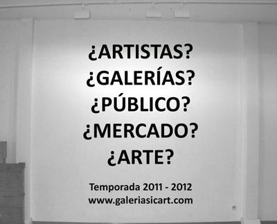 Sicart pregunta | La catalana galería Sicart inicia una temporada de reflexión