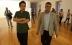 Karmelo Bermejo e Iñaki Antelo, director del Marco