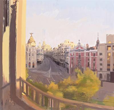 Grav Vía, de Antonio López | Los grandes museos incrementaron sus visitas en 2011