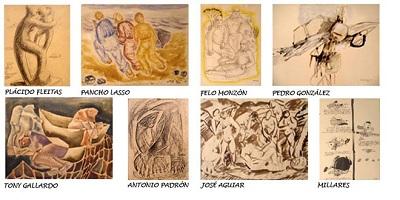 La Memoria de papel, en Manuel Ojeda   Las obras sobre papel, entre lo más destacado de las inauguraciones navideñas