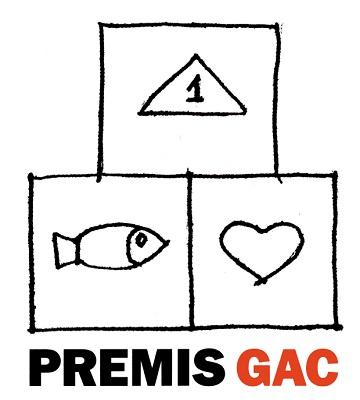 Logo de los Premis GAC   Las galerías de arte catalanas entregan los Premios GAC 2012