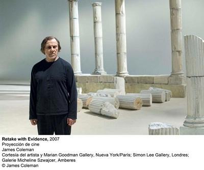 Retake with Evidence, 2007. Proyección de Cine. James Coleman | El Reina Sofia y el CAAC inauguran sendas exposiciones con obras incorporadas recientemente