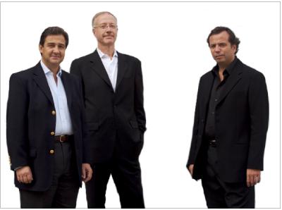 Alejandro Zaia, Mauro Herlitzka y Diego Costa Peuser, equipo directivo de Pinta | España reduce su presencia en Pinta Londres a niveles de 2010