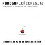 forosur_cáceres 2012