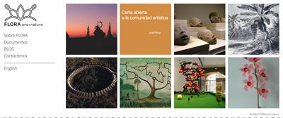 Página web del futuro FLORA arsnatura   Aperturas de espacios en Latinoamérica: José Roca dirigirá uno en Bogotá