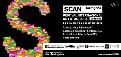 Cartel del festival de fotografía SCAN Tarragona | SCAN Tarragona sigue abriendo sus puertas a nuevas generaciones de fotógrafos