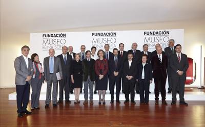 Presentación de la Fundación Museo Reina Sofía   El Reina Sofía se dota de una Fundación con coleccionistas para ampliar el trabajo en red