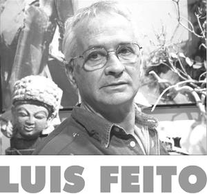 Luis Feito, foto tomada de su web | Luis Feito regresa a Punto de Valencia exponiendo su obra más reciente