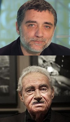 Jaume Plensa arriba y Eugeni Forcano abajo | Jaume Plensa y Eugeni Forcano, Premios Nacionales de Artes Plásticas y Fotografia 2012