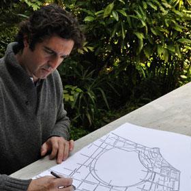 Juan Garaizabal trabajando en el proyecto Memoire dn jardín | Juan Garaizabal presenta un proyecto colateral a la Bienal de Venecia