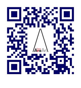 Código QR de AvaArt   AvaArt: única galería española en la séptima Trienal de Arte Comtemporáneo de Eslovenia